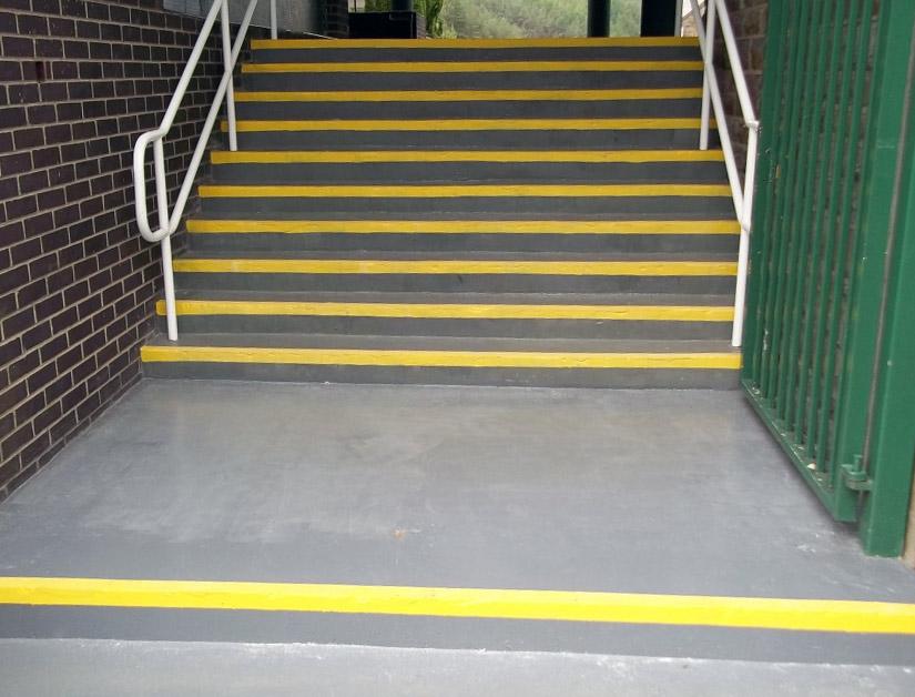 repair concrete steps epoxy
